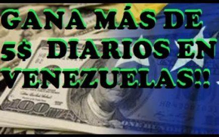 MEJOR FORMA DE GANAR DINERO POR INTERNET | MÁS DE 5$ DIARIOS DESDE CUALQUIER PAÍS DEL MUNDO!!