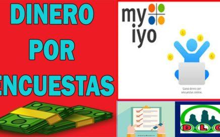 Myiyo | Gana Dinero Gratis Con Encuestas.