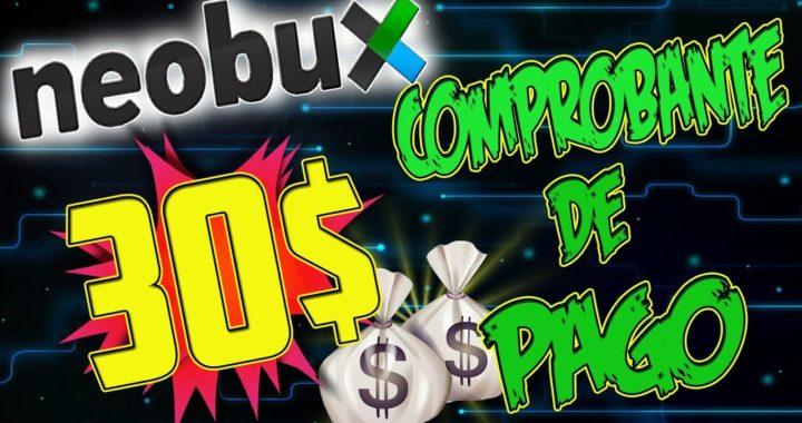 |NeoBux | Comprobante de Pago de 30$ por Payza | Basta de Crisis