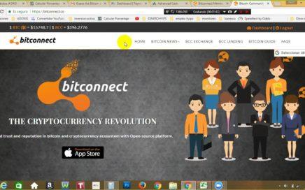 NOTICIAS BITCONNECT - REPASO DE INFORMACIONES  Y  GANANCIAS +