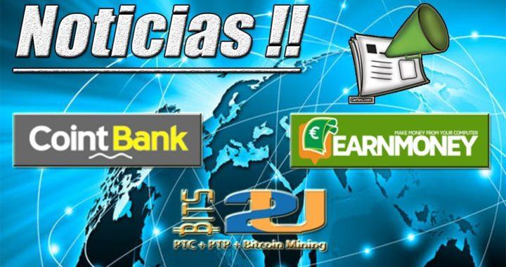 Noticias Importantes - CointBank, Bits2U, Earn Money Network   Gokustian