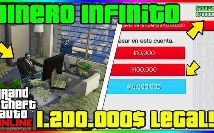 NUEVA CAPTURA MODEADA AFK *DINERO & RP INFINITO* 1.200.000$ FACIL GTA V ONLINE 1.41