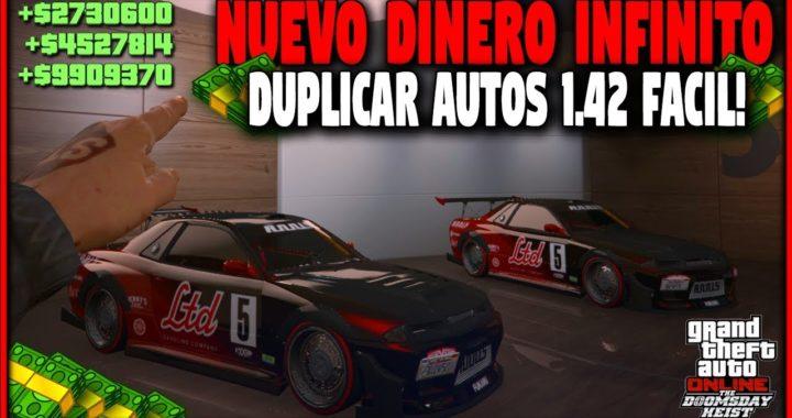 NUEVO! DINERO INFINITO DUPLICAR AUTOS SUPER FACIL! GTA 5 1.42 HAZ MILLONES PARA EL NUEVO DLC!