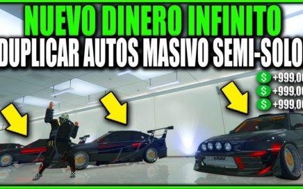 NUEVO! DINERO INFINITO SEMI-SOLO DUPLICAR AUTOS MASIVAMENTE FACIL! GTA 5 1.41 EASY! MONEY GLITCH!