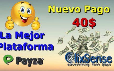 Nuevo Pago De Clixsense 40$ La Mejor Plataforma DE Ganar Dinero Gratis 