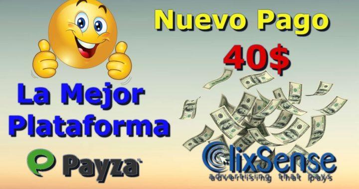 Nuevo Pago De Clixsense 40$ La Mejor Plataforma DE Ganar Dinero Gratis|