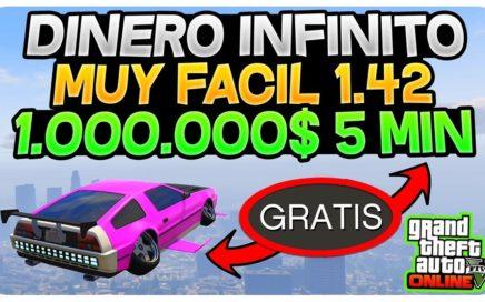 NUEVO TRUCAZO 1.42 *DINERO INFINITO +1,000,000 EN 5 MIN* TRUCO GTA 5 ONLINE 1.42