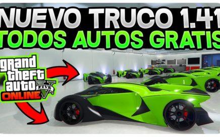 ¡NUEVO TRUCAZO TENER TODOS LOS VEHÍCULOS GRATIS! *FÁCIL Y RÁPIDO* GTA 5 ONLINE 1.41