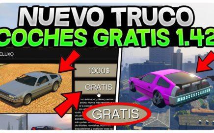 NUEVO TRUCO 1.42 *TODOS LOS NUEVOS VEHÍCULOS GRATIS!* GTA 5 ONLINE 1.42 COCHES GRATIS!