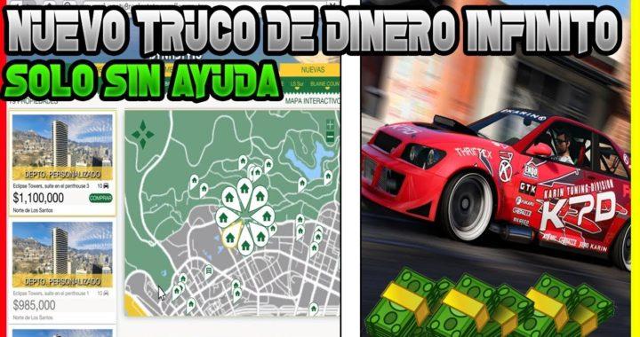 NUEVO TRUCO DE DINERO INFINITO SIN AYUDA EN GTA V ONLINE VENDER CASAS