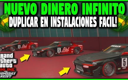 NUEVO* TRUCO DINERO INFINITO DUPLICAR EN INSTALACIONES SUPER FACIL! GTA 5 1.42 MONEY GLITCH PS4 XBOX