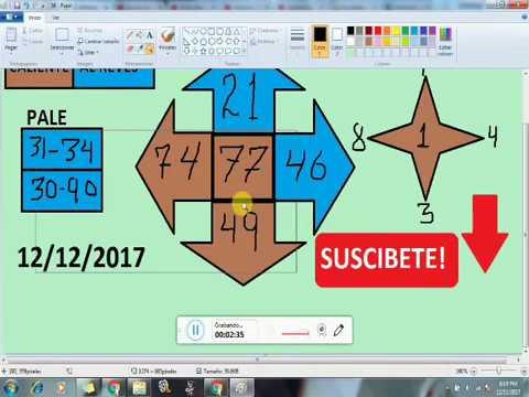Numeros para GANAR la lOTERIA hoy 12/12/2017---JUEGA Y GANA dinero rapido en la LOTERIAS