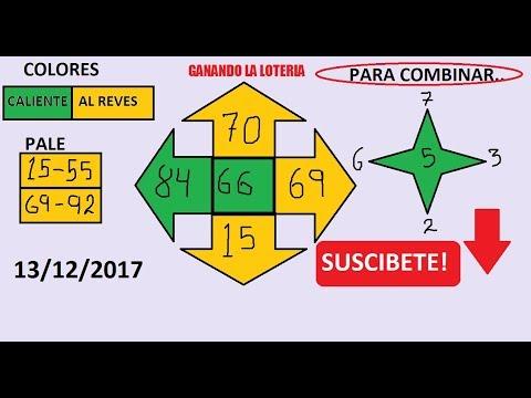 Numeros para GANAR la lOTERIA hoy 13/12/2017---JUEGA Y GANA dinero rapido en la LOTERIAS