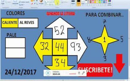 Numeros para GANAR la lOTERIA hoy 24/12/2017---JUEGA Y GANA dinero rapido en la LOTERIAS