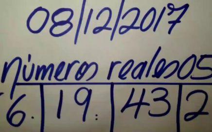 NÚMEROS PARA HOY 08/12/17 DE DICIEMBRE PARA TODAS LAS LOTERÍAS..!!