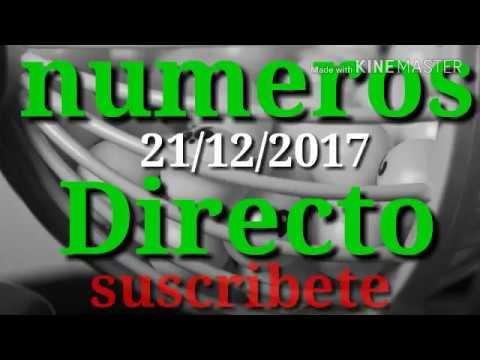 numeros para hoy 21 de diciembre  del 2017-numeros directo numeros para las loterias