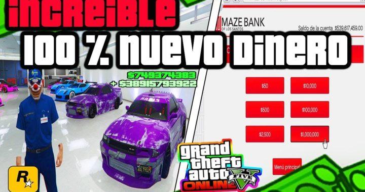OMG!!  BRUTAL *NUEVO* DINERO MILLONES EN MINUTOS  [GTA 5 ONLINE]  1.42