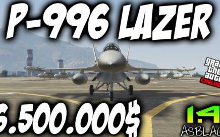 P-996 LAZER - NUEVO - ¿DECEPCIÓN? - GTAV Online 1.41 - SMUGGLER'S RUN - 6.500.000 - (PS4 - XB1)