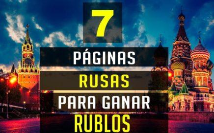 PAGINAS RUSAS PARA GANAR RUBLOS GANA DINERO EN INTERNET