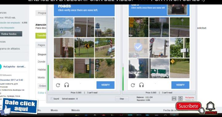 PAGO 45 DE RUCAPTCHA! GANAR DINERO LLENANDO CAPTCHAS SIN LIMITES!