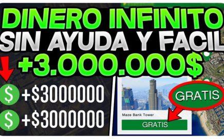 PARTIDA HACK DE DINERO INFINITO SIN AYUDA! *BESTIAL* (GTA 5 ONLINE DINERO INFINITO 1.41/1.42)