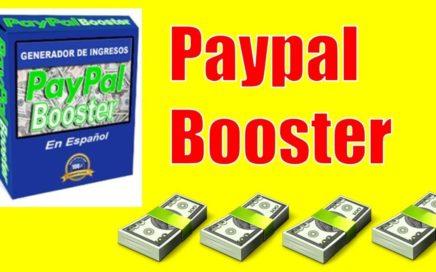 Paypal Booster | Gana Dinero En Piloto Automatico | Pruebas De Pago