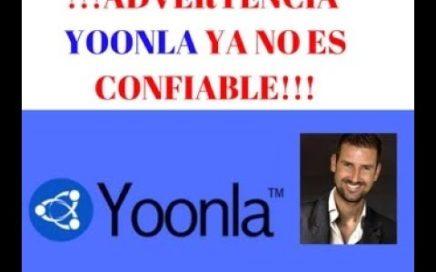 !!!!! PRECAUCIÓN YOONLA YA NO ES CONFIABLE!!!!!! (GANA DINERO POR INTERNET)