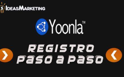 Registro a Yoonla - ACTUALIZADO