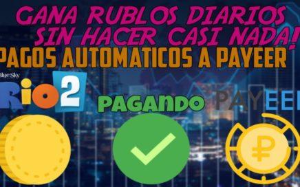 Rio-Farms - 200 Rublos GRATIS Gana Dinero Jugando + Pruebas de PAGO