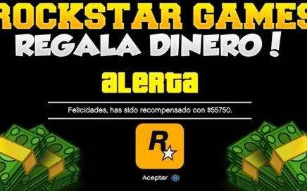 ROCKSTAR GAMES TE REGALA DINERO POR HACER ESTO!! SUPER RAPIDO Y SENCILLO +500.000 DOLARES EN GTA V