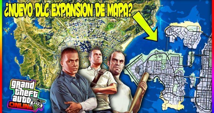 ¿ROCKSTAR METERÁ EL DLC EXPANSIÓN DE MAPAS EN GTA 5 ONLINE?