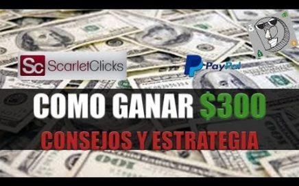 SCARLET CLICKS | Como Ganar Dinero Para Paypal | SCARLET-CLICKS 2017 | SCARLETCLICKS paga