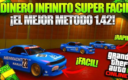 *SEMISOLO* After Patch Super FÁCIL GLITCH DE DINERO ! GTA 5 Truco Dinero 1.42 Duplicar Autos BRUTAL!