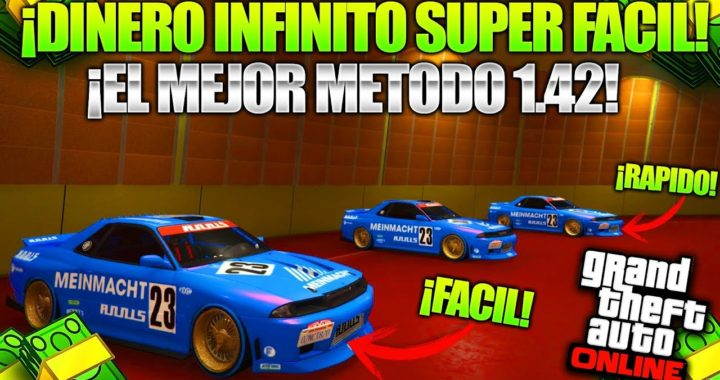*SEMISOLO* After Patch Super FÁCIL GLITCH DE DINERO ! GTA 5 Truco Dinero 1.42 Duplicar Autos BRUTAL!