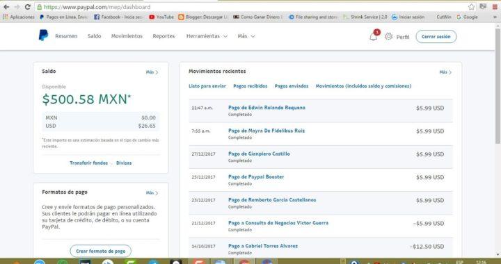 Sin Limites 2018 Como Ganar $15 a $30 Dolares Diariamente Facil y Rapido para PyPal Comprobado!!!!