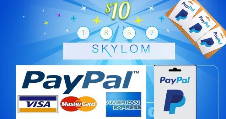 Skylom GANA DINERO-Mas de $100 en premios a PayPal