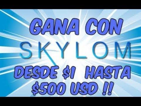 SKYLOM - GANA DINERO VIENDO VIDEOS DE YOUTUBE Y PARTICIPA EN SORTEOS !!   COMPROBANTE DE PAGO