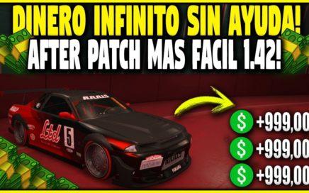 * SOLO * After Patch Super FÁCIL GLITCH DE DINERO ! GTA 5 Truco Dinero 1.42  Duplicar Autos BRUTAL!