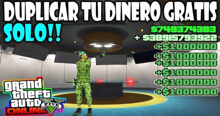 "*SOLO* APROVECHA EL ERROR ""NUEVO"" TRUCAZO DUPLICA DI DINERO MILLONES GTA 5 ONLINE"