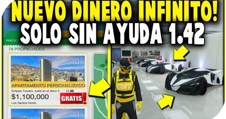 *SOLO* Dinero Infinito MILLONARIO Sin AYUDA!! GTA 5 1.42 De Pobre a Rico! Metodo FACIL!
