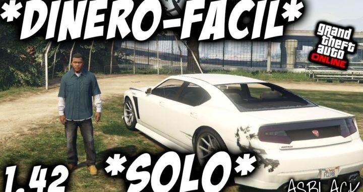 SOLO -  SIN AYUDA - DINERO INFINITO FACIL - GTA 5 - GANAR 1.400.000$  FACIL SIN AYUDA - (PS4 - XB1)