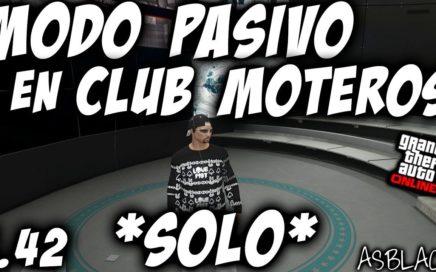 SOLO -  SIN AYUDA - DUPLICAR COCHES - GTA 5 - DINERO INFINITO - MODO PASIVO CLUB MOTEROS - (PS4-XB1)