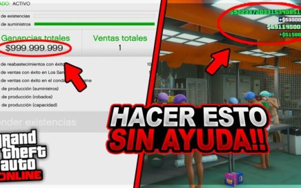 *SOLO SIN AYUDA* HAZTE MILLONARIO CON ESTE TRUCO EN GTA 5 ONLINE 1-42 - TENER SUMINISTROS INFINITOS!