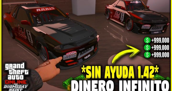* SOLO * Super FÁCIL GLITCH DE DINERO ! GTA 5 Truco Dinero 1.42 | Duplicar Autos BRUTAL!