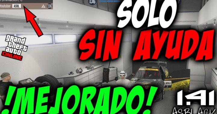 SOLOS SIN AYUDA - DUPLICAR COCHES - MASIVO - GTAV Online 1.41 - MEJORADO 100% - (PS4 - XB1)