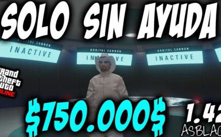 SOLOS SIN AYUDA - TRUCO DINERO INFINITO BRUTAL - GTAV Online 1.42 - 750.000$ SIN PARAR - (PATCHED)