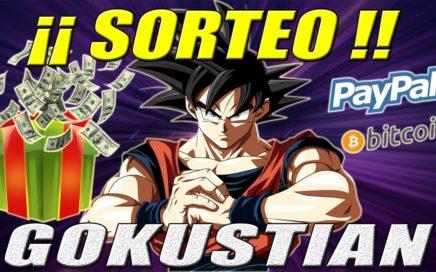 Sorteo de Gokustian #1 por 10$ Paypal, y el Ganador es ... | Gokustian