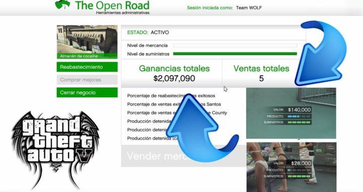 Suministros ILIMITADOS sin AYUDA - Como ganar mucho dinero en gta v online - WOLF D3ATH