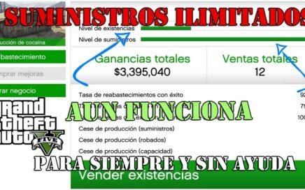 SUMINISTROS INFINITOS CLUB DE MOTEROS GTA V ONLINE 1.41 TRUCO DE DINERO INFINITO