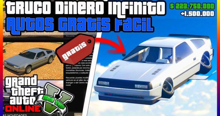 "*SUPER FACIL* TRUCO DE DINERO INFINITO ""GTA V ONLINE"" AUTOS GRATIS 1.42"